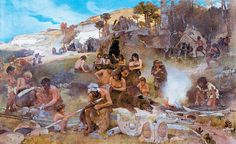 The emergence of human life in Ukraine Ancient Art, Ancient History, Paleolithic Period, Primitive Survival, Prehistoric World, Indigenous Tribes, Early Humans, Hunter Gatherer, Stone Age