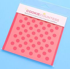 Schablone Sufficient Supply Cookie Stencil Pattern Stencil For Chocolate Covered Oreos