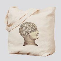 11f0b4c0ff Psychology Canvas Tote Bags - CafePress