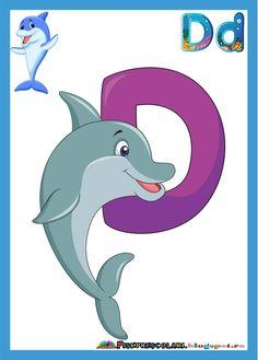 SET de Planse colorate cu litere pentru clasa | Fise de lucru - gradinita Math For Kids, Yoga For Kids, Abc Crafts, Alphabet Style, Alphabet Pictures, English Classroom, Letters And Numbers, Pre School, Classroom Decor
