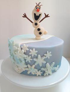 """Frozen """"Olaf"""" cake #Olaf #Frozen"""