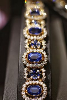 The Extraordinary Jewelry of Alexandre Reza...A SAPPHIRE AS BIG AS THE RITZ..Rivaling the Crown Jewels in the Tower of London and the Hope Diamond in D.C.'s Smithsonian Natural History Museum, the collection of Paris-based maitre joaillier Alexandre Reza features some of the world's rarest gemstones. To the French designer, a brooch was no standard lapel décor. Among the retired designer's elaborate pieces is his version of a brooch: a stunning, 134-carat Ceylon unheated sapphire surrounded…