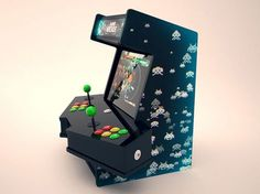 Bartop arcade with extra space for controls