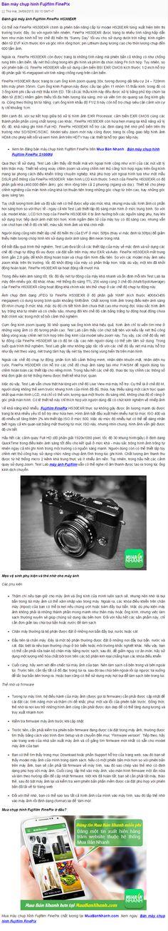 Bán máy chụp hình Fujifilm FinePix https://muabannhanh.com/tag/ban-may-chup-hinh-fujifilm-finepix