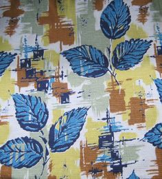 29 Best Trend 1950 S Fabric Images Fabric Textile