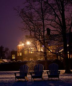 America's Most Romantic Winter Destinations: Blantyre Hotel, Berkshires
