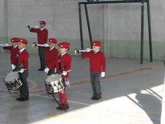 Banda de guerra Esc. Primaria Leandro Valle Cd. Juarez Chih. 2012.