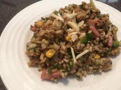 Chicken & Bacon Rice Salad