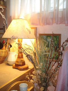 "Yes to real lamps - ""lovely and homey - steiner classrooms do this so well."""