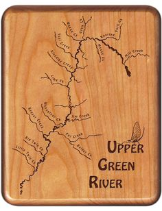 21 Best Wyoming River Map Fly Boxes images