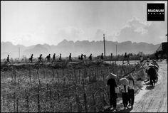 Near Namdinh, May 1954//Robert Capa