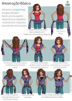 manual de intruçoes wrap sling Mais
