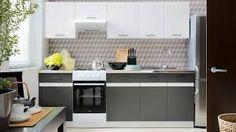 Znalezione obrazy dla zapytania nowoczesne kuchnie szare