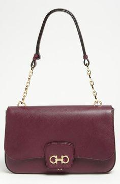 Salvatore Ferragamo 'Bree' Leather Shoulder Bag available at #Nordstrom