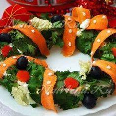 Новогодние салаты 2016 с фото: рецепты