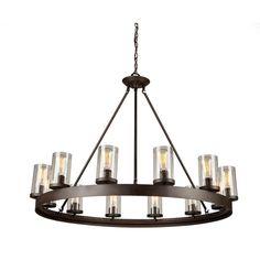 Laurel Foundry Modern Farmhouse Florine 12-Light Candle-Style Chandelier & Reviews | Wayfair
