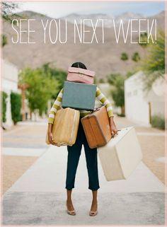 Nos vamos de vacaciones.....