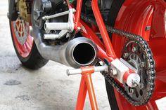Ducati racing motorcycle