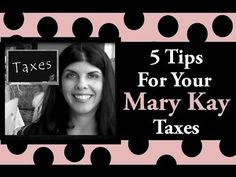 5 Tips For Your Mary Kay (and small business taxes)Taxes. Please share with your friends! Subscribe for more videos! :)