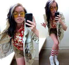 e1f3d210 Fear and Loathing in Las Vegas Outfit Of The Day, awesome and hilarious!
