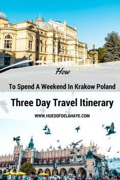 How To Spend A Weekend In Krakow Poland  Krakow Poland Things To do  Things to do in Krakow Poland  Things To Do in Krakow Places To Visit  Things To Do in Krakow Tips  Places To Visit In Krakow Poland  Krakow Poland Travel Things To Krakow Poland Three Day Travel Itinerary #Krakow #Poland #Travel