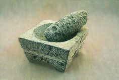 Artesania Chilena Mortero en piedra (8 region)