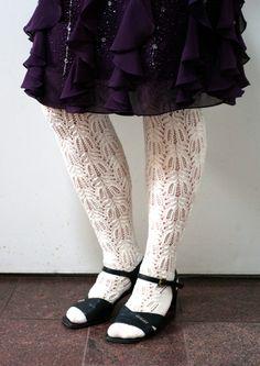 Ravelry: Extra Long Tribute Stockings pattern by Senja Jarva Knit Or Crochet, Lace Knitting, Knitting Socks, Knitting Patterns, Knitted Slippers, Slipper Socks, Stocking Pattern, Thigh High Socks, Free Pattern