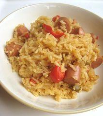 Recipe Arroz Con Salchichas Puerto Rico( Rice with vienna sausages)