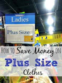How to save money on plus size clothes