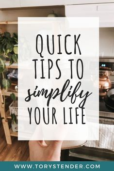 How to simplify your life and live more minimally // Tory Stender -- Minimalist Lifestyle, Minimalist Living, Slow Living, Clean Living, Declutter Your Life, Learning To Say No, Saving Ideas, Saving Tips, Making Life Easier