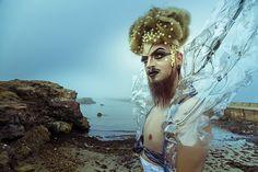 gorgiera drag queen in lexan