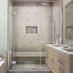 DreamLine Unidoor-X 54.5 - 55 in. W x 72 in. H Hinged Shower Door (Oil Rubbed Bronze), Clear