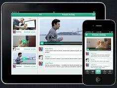 SocialBoo for iPhone - UltraUI | UI Design & Inspiration