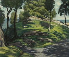 Hillock, original oil on canvas by Lewis Bryden   R. Michelson Galleries