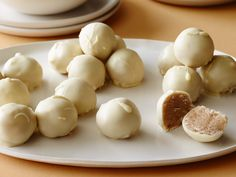 Snickerdoodle Cookie Dough Truffles recipe from Food Network Kitchen via Food Network