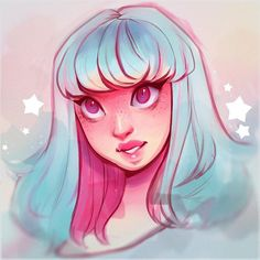 WEBSTA @ cyarine - Cotton candy vibes ✨ A sweet rough thing in between ~