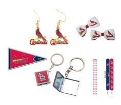 Bundle 6 Items: St. Louis Cardinals Game Day Gift Set