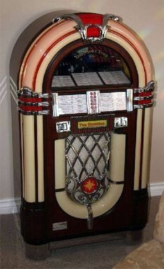 In the corner of SOME room, there will have to be a Wurlitzer. Friends can pay 5 cents a song for some of the best hits from back in the day!
