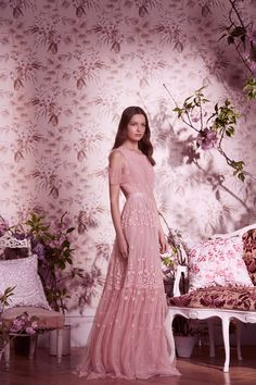 Discover embellished, embroidered & lace dresses at Needle & Thread, fit for every occasion. Shop embroidered floral gowns, sequin embellished dresses and more. Pretty Outfits, Pretty Dresses, Needle And Thread Dresses, Floral Gown, Embellished Dress, Groom Dress, Pink Dress, Dress To Impress, Ball Gowns