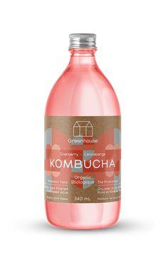 Cranberry Kombucha Juice Packaging, Cool Packaging, Beverage Packaging, Bottle Packaging, Packaging Stickers, Packaging Design, Kambucha Tea, Kombucha Brands, Product Design