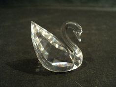 Beautiful Swarovski Crystal Small Swan Figurine Retired 2004   eBay