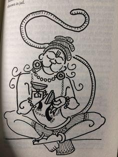 Madhubani Paintings Peacock, Madhubani Art, Indian Art Paintings, Shiva Art, Krishna Art, Hindu Art, Art Drawings For Kids, Art Drawings Sketches, Compass Art