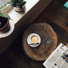 Coffee and the paper for a lazy morning @alice_gao - Photo: Courtesy of Alice Gao