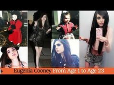Eugenia Cooney Transformation | From Age 1 to Age 23 - YouTube