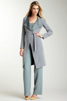 Giorgio Armani  Silk collar Long Coat