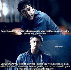 John Winchester's A+ parenting