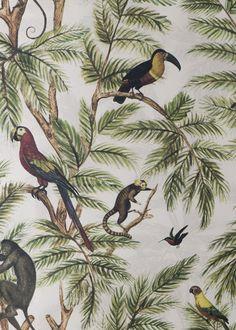 jungle wallpaper osborne and little - Google Search