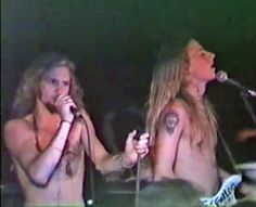 Layne Staley & Jerry Cantrell