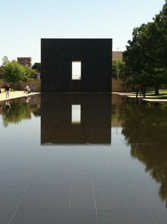 Oklahoma City National Memorial & Museum, Oklahoma City, OK The Memorial and Museum is dedicated to educating visitors about the impact of violence, informing about events surrounding the bombing, and inspiring hope and healing through lessons learned by those affected.   Photo taken at Oklahoma City National Memorial & Museum by Liz B. on 9/3/2012