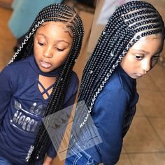 Kids deep side part tribal braids like! Splendid Kids deep side part tribal braids like! The post Kids deep side part tribal braids like! appeared first on Cool Fashion Hair . Little Girl Braid Styles, Kid Braid Styles, Little Girl Braids, Black Girl Braids, Braids For Black Hair, Girls Braids, Kid Braids, Tree Braids, Braids Easy